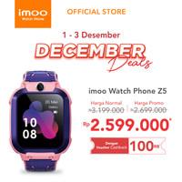 imoo Watch Phone Z5 - HD Video Call - PINK