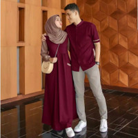 la baju couple gamis koko busana muslim fashion pria wanita bagus