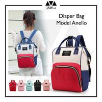 JAW Tas Bayi Anello Diaper Bag / Mommy Bag / Tas Perlengkapan Bayi - Random