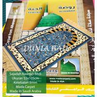 Sajadah Rawdah Madinah PERSONAL Tebal 8 MM Raudah MIDI Original Saudi