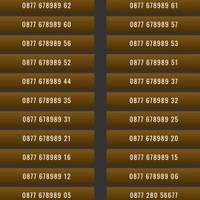 XL 4G 08 778899 XXXX Nomor Cantik Kartu Perdana