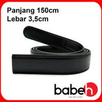TALI BAN IKAT PINGGANG SABUK PRIA KULIT IMPORT REL | BIG SIZE - P150cm L3,5cm