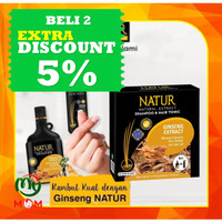 Natur Shampoo & Natur Hair Tonic Ginseng / Paket 2 in 1 / MY MOM