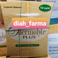 Thermolyte Plus kaplet Pelangsing Herbal Isi 10tablet