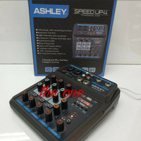 AUDIO MIXER ASHLEY SPEED UP4(4 CHANNEL)USB,BLUETHOOtH - SPEED UP 4