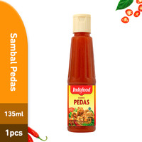 Sambal Indofood Pedas Pet 135 ML X 1 PCS