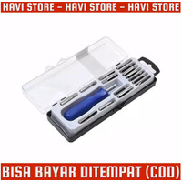 Obeng Set 16 in 1 - Mini Tool Kit