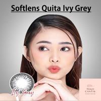 Eyelovin SoftLens Quita Ivy Grey Contact Lens Perawatan Mata