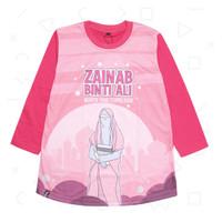 Kaos Printing Tunik Raffiz untuk Anak Muslimah