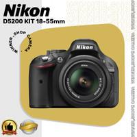 KAMERA DSLR NIKON D5200/D5200 KIT 18-55mm