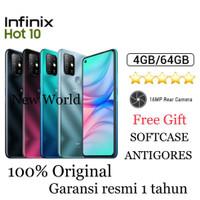 Infinix Hot 10 4GB+64GB Garansi Resmi
