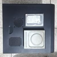 Paket Casing Simbadda Komputer PC + PSU 380w + HDD 160GB + DVD RW Sata