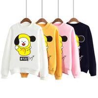 Sweater Wanita Baju Anak CHIMMY Cute Yellow Black Ear BT21 BTS JIMIN