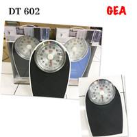 Timbangan badan manual GEA DT 602 / Timbangan Oval