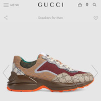 SEPATU SNEAKERS BRANDED IMPORT GUCCI SHOES LIMITED EDITION MIRROR 1:1
