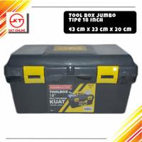 Tool Box Jumbo / Besar penyimpanan alat perkakas serbaguna Kenmaster