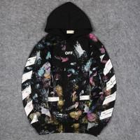 Sweater Hoodie OFF WHITE GALAXY Premium Original Stuff High Quality