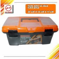 Toolbox Besar Kenmaster / Tool Box Multifungsi penyimpanan perkakas