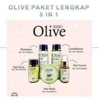 paket olive 5in1 shampoo condi tonic hair mask hair serum