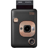 Fujifilm Instax LiPlay and Printer Instax Mini Hybrid Instant Camera - Elegant Black