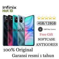 Infinix Hot 10 4GB+128GB Garansi Resmi