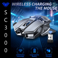 Mouse Gaming AULA Wireless SC-300 Rechargeable Lithium battery 2.4GHz
