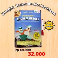 Buku Anak : Belajar, Bermain, dan Berkisah The Real Hero