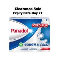 Panadol Cough & Cold, Obat Flu dan Batuk