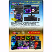 Komputer PC Rakitan Paket Video Editing Intel Core i5