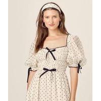 Mini Dress Korea Sexy White Love Pattern Import F-513684