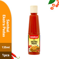 Sambal Indofood Ekstra Pedas Pet 135 ML (PCS)