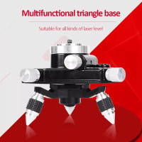 bracket dudukan laser level 3D 12 line rotary base tripod adapter