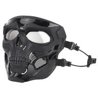 Masker Motor Topeng Airsoft Gun Paintball Full Face Model Tengkorak Sk