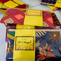 Souvenir Pernikahan Dompet Batik Ibu / Tempat pensil HP