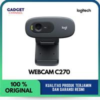 Logitech Webcam C270 - Garansi Resmi 1 Tahun
