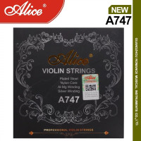 Senar Biola Violin Strings Alice A747 Set