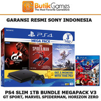 Sony PS4 Slim 1TB Bundle Megapack + PES 2020 PS4