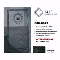 Sajadah Saku Anti Air | Sajadah Travel Lipat Alif Modern Wear SJD-0049