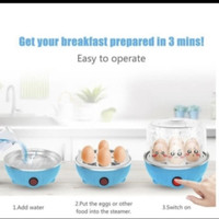 Alat Perebus Telur Elektrik 3 Susun - Elektrik Egg Cooker Boiler