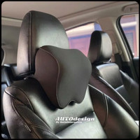 Bantal Leher Mobil Headrest Memory Foam - Best Quality