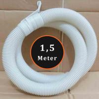 Selang Flexibel Pembuangan Air Mesin Cuci 1,5 Meter Putih