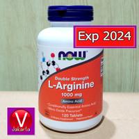 Now Foods Food L-Arginine 1000mg Amino Acid 120 Tablets Now L Arginine