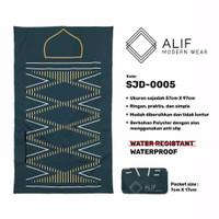 Sajadah Saku Anti Air | Sajadah Travel Lipat Alif Modern Wear SJD-0005