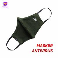 Masker Kain Antivirus Non Medis – Earloop Mask Army
