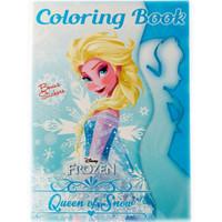 Buku Mewarnai Frozen Adinata Anak Bonus Sticker Queen of Snow