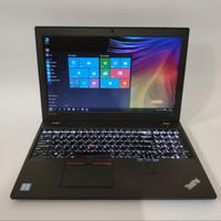 Laptop Workstation Lenovo Thinkpad p50s - Core i7 gen6 - Dual Vga