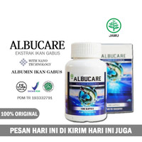 Obat Penambah Albumin - Kapsul Ikan Gabus Walatra Albucare