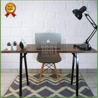Meja Komputer Tulis Belajar Worktable 120x60 Murah Modern Minimalis