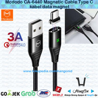 Mcdodo Kabel Data Magnetic / Magnet Type C Fast Charging 3A QC4.0