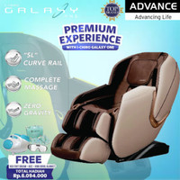 KURSI PIJAT | ADVANCE ICHIRO GALAXY ONE | ALAT PIJAT | MASSAGE CHAIR